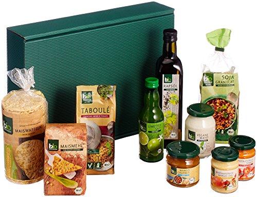 biozentrale Vegan Geschenkbox - enthält 10 BIO-Produkte