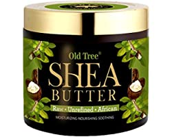 Old Tree Premium Quality Raw Unrefined African Shea Butter, 100 Gm