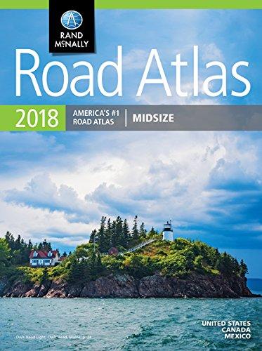2018 Rand McNally Midsize Road Atlas: Rdms (Rand McNally Road Atlas Midsize) por Rand Mcnally