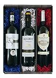 Geschenkidee  - Vive la France! Probierpaket 3 preisgekrönte Rotweine (3 x 0.75 l)