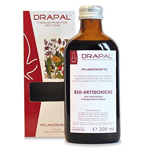 ARTISCHOCKEN BIO Pflanzensaft Drapal 200 ml