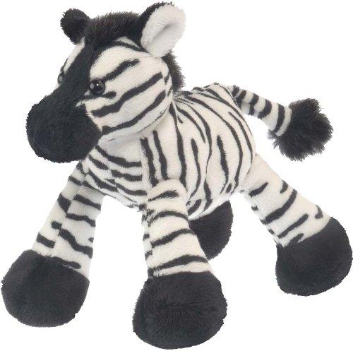 Wild Republic 86230-marioneta de Mano tumblers, Zebra 15cm