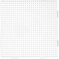 HAMA 234 - Base quadrata per perline da stirare