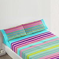 Burrito Blanco - Juego  de sábanas 404 Único, para cama de 105 x 190/200 cm.
