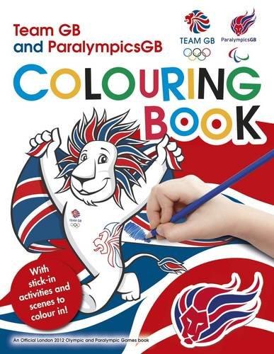 L2012 Team GB Sticker Colouring Book (London 2012) por Locog