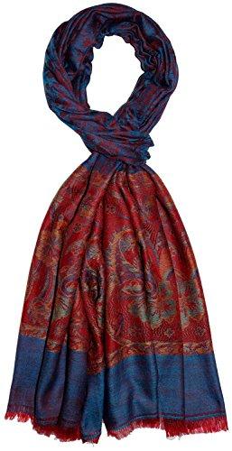 Lorenzo Cana Luxus Herren Kaschmirschal 100% Kaschmir jacquard gewebt Paisley Muster Schal Schaltuch Kaschmirtuch Kaschmirpashmina 7836411 -