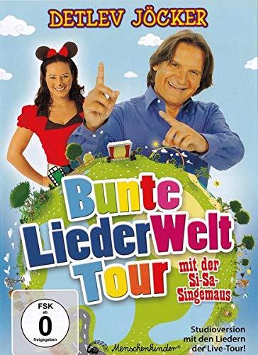 Detlev Jöckers bunte Liederwelt-Tour, DVD