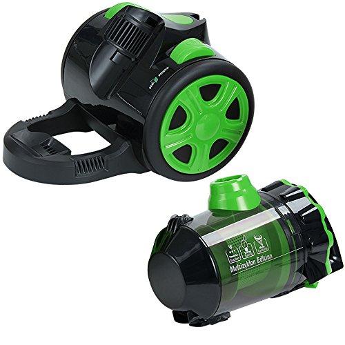 staubsauger multi zyklon green edition bodenstaubsauger beutellos mit hepa filter 1000w. Black Bedroom Furniture Sets. Home Design Ideas