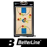 Premium Trainertafel durch eine bessere line- magnetisch doppelseitig Klemmbrett (wählen Sie Basketball, Fußball, Volleyball oder Handball) - inklusive Magnete & Pen (Basketball)