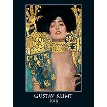 Gustav Klimt 2018 - Bildkalender (42 x 56) - Kunstkalender --- Metallicfolienveredelung ---
