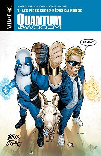 Lire Quantum and Woody Vol. 1: Les pires super-héros du monde pdf