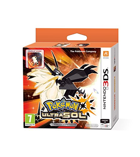 3DS POKEMON ULTRASOL EDICION ESPECIAL STEELBOOK