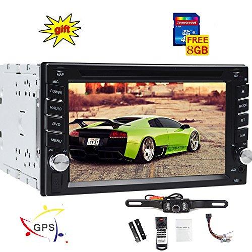 15,7 cm Autoradio dans l'interface de l'Autoradio Navigation GPS de voiture DVD CD Video Player 2 DIN Head Unit Intégré au Tableau de bord Bluetooth Système Multi vidéo audio FM Radio AM RDS