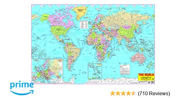Buy world map book online at low prices in india world map reviews buy world map book online at low prices in india world map reviews ratings amazon gumiabroncs Images