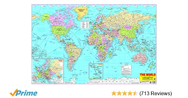 Buy world map book online at low prices in india world map reviews buy world map book online at low prices in india world map reviews ratings amazon gumiabroncs Gallery