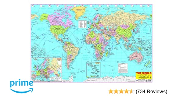 Buy world map book online at low prices in india world map reviews buy world map book online at low prices in india world map reviews ratings amazon gumiabroncs Choice Image
