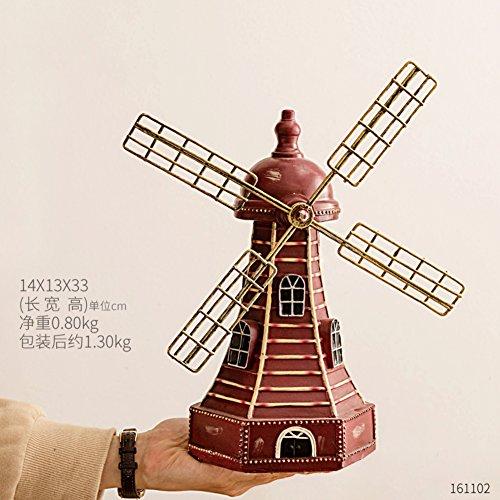 Retro-heim windmühle sparschwein, Wohnzimmer weinkühler regal dekorationen Zimmer...