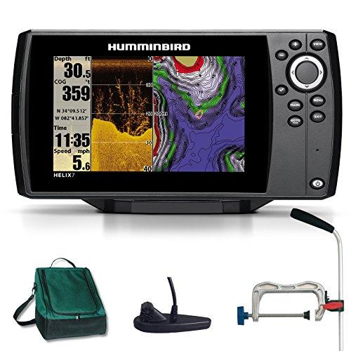 Humminbird Helix 7 DI GPS Down Imaging Echolot Seekartenplotter Combo Portabel Profi Plus