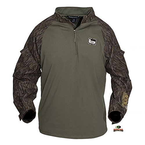 , 1/4 Zip Utility Shirt Bottomland