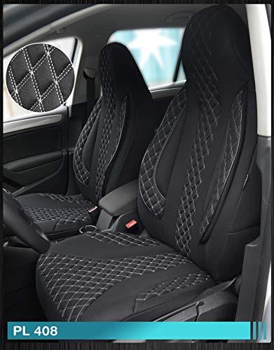 Maß Sitzbezüge Ford Focus 1 Fahrer & Beifahrer ab BJ 1998-2004 Farbnummer: PL408 - Ford 1998 Sitzbezug