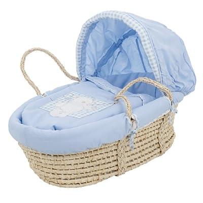 Obaby B is for Bear Moses - Capazo para recién nacido, color azul by Obaby