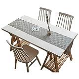 MNS Retro Runner Semplice, Tessuto di Stoffa utilizzato per Tavolo da Pranzo Tavolino da caffè Tavolino da Scarpe 2 Colori 6 Taglie Disponibili (Colore : Gray, Dimensioni : 30x120cm)