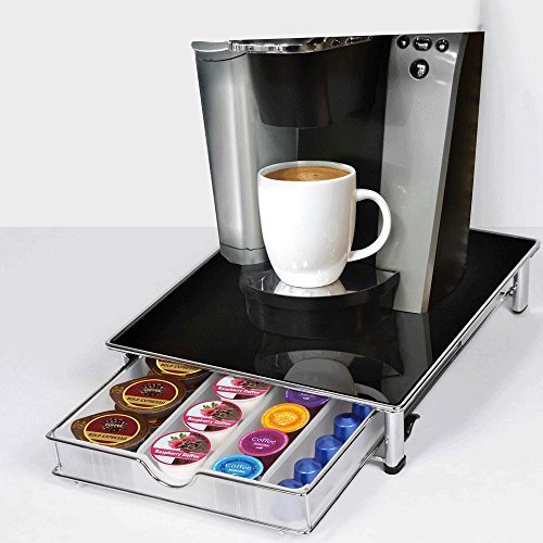51x8C3%2BnZRL - BEST BUY #1 Coffee Pod Organiser Black Reviews and price compare uk