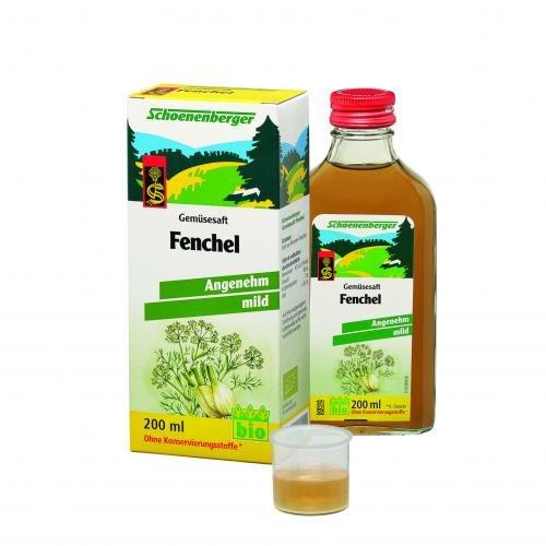Schoenenberger Gemüsesaft-Fenchel, 1er Pack (1 x 200 ml)