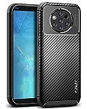 JD Compatibile per Cover Nokia 9 PureView, [Fibra Carbonio Pattern] [Goccia Protezione]...