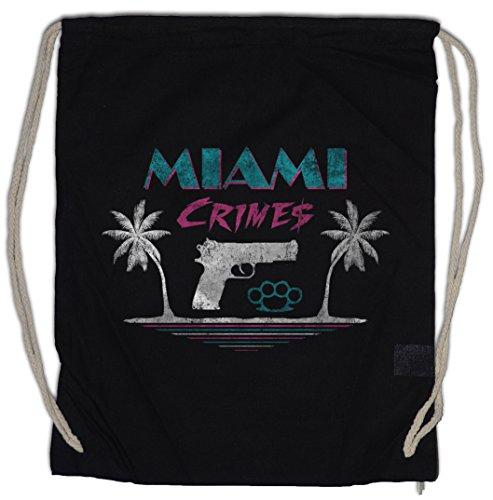 Urban Backwoods Miami Crimes Turnbeutel Sporttasche