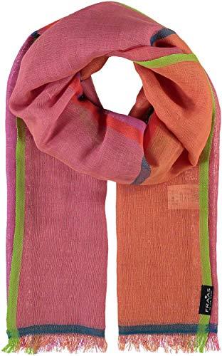 FRAAS Damenschal, 50 x 180 cm, Baumwolle Pink