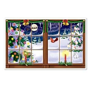léopard 1-pack Neige de Noël Insta View Drap pour décorations de fête, 3-Feet 5,1cm par rouleau 5,1cm