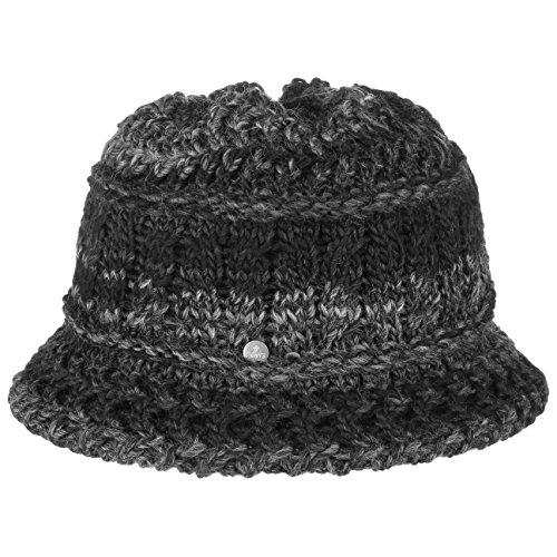 Lierys Alesund Strickhut für Damen Wollhüte Damenhut Winter (One Size - anthrazit)