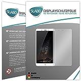 2 x Slabo Bildschirmfolie für Nubia Z11 Max Bildschirmschutzfolie Zubehör (verkleinerte Folien, aufgr& der Wölbung des Bildschirms)