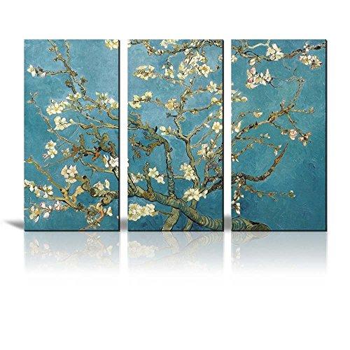 BFCY Art stampa giclée su tela 3pannelli dellopera darte di Van Gogh