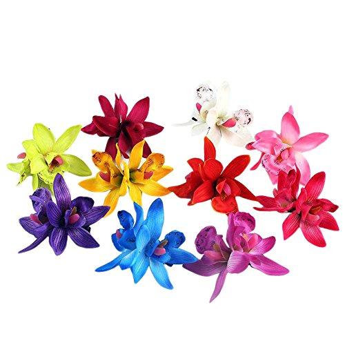 10-x-elegante-las-mujeres-nias-multi-colores-Clips-de-pelo-con-diseo-de-orqudea-hawaiana-playa-boda-pelo-pasador-de-cabello-Clip-de-pelo-pasador-color-al-azar