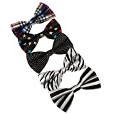 DBF0110 Papillon Paquete 5 Gift Set regalo para ?l multicolores (Zebra, Damas, lunares, rayas,...