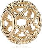 Pandora Damen-Bead 14 kt Gold 750815