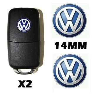 Aya VWlogo3-Auto-Fernbedienung-/Schlüsselanhänger, Logo, Emblem, Aufkleber