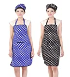 Best Cook Aprons - Switchon Waterproof Cotton Kitchen Polka Apron Pack of Review