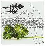 Räder - P.e.T. Glasplatte - Gourmet - Glas bedruckt 30 x 30 cm