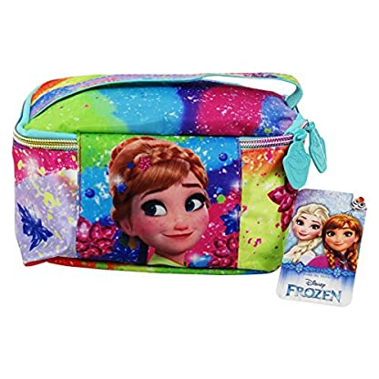 Disney Frozen Rainbow Make Up Bag Bolsos Neceser Vanity Estuche Ninos