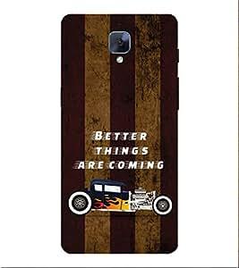 PrintVisa Designer Back Case Cover for OnePlus 3 :: OnePlus Three :: One Plus 3 (Dark Wood Floors)