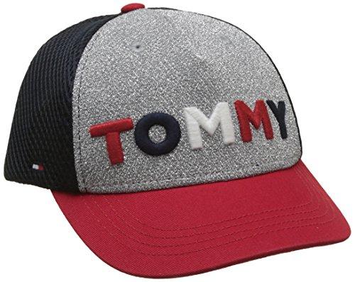 Tommy Hilfiger Jungen Kappe Tommy Glitter Cap, Blau (Corporate Clr 901), L