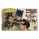 Logoshirt Batman et Robin-Le Pingouin-DC Comics-Petit Déjeuner Planche à découper-Original Officiel