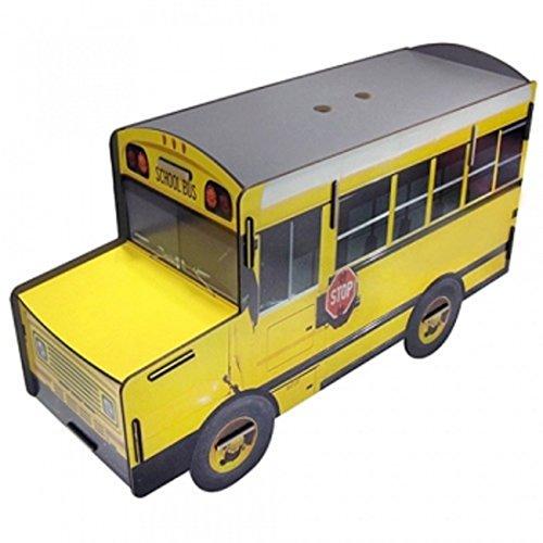 Büchersitzbank Schoolbus