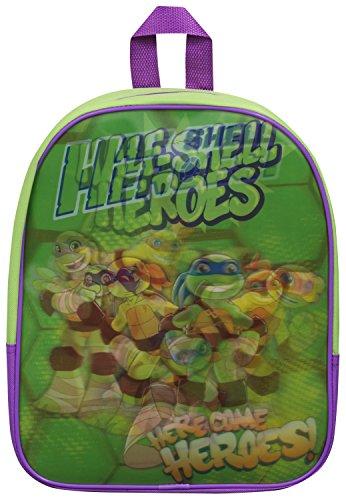 Rucksack, Motiv Ninja Turtles, TMNT Schultasche mit Superheldenmotiv