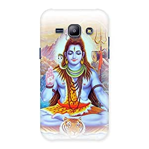 Gorgeous Blessings Of Shiva Back Case Cover for Galaxy J1