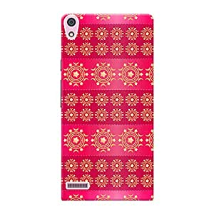 Mobile Back Cover For Huawei Ascend P7 (Printed Designer Case)