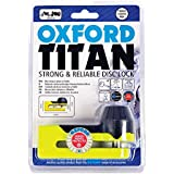 OXFORD OF51 Titan Disc-Lock and Pouch, 2005, Yellow